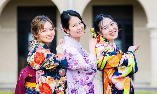 大学卒業・卒業袴の撮影例