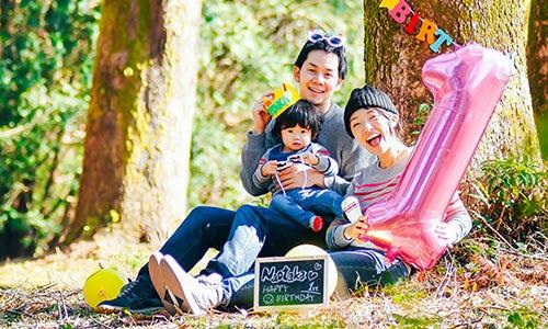 家族写真の写真撮影事例