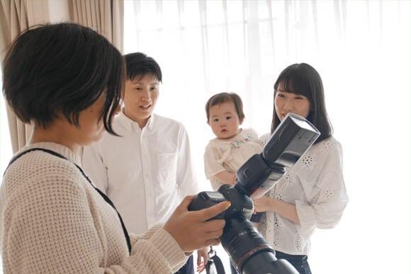 家族写真-出張撮影風景2